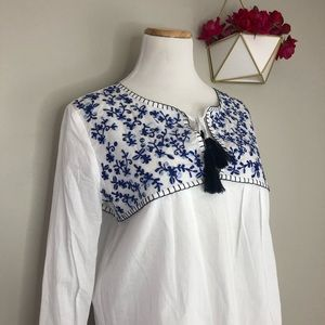 Collective Concepts Tops - Collective Concepts Embroidered Top (Stitch Fix)